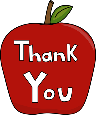 336x400 Thank You Clip Art