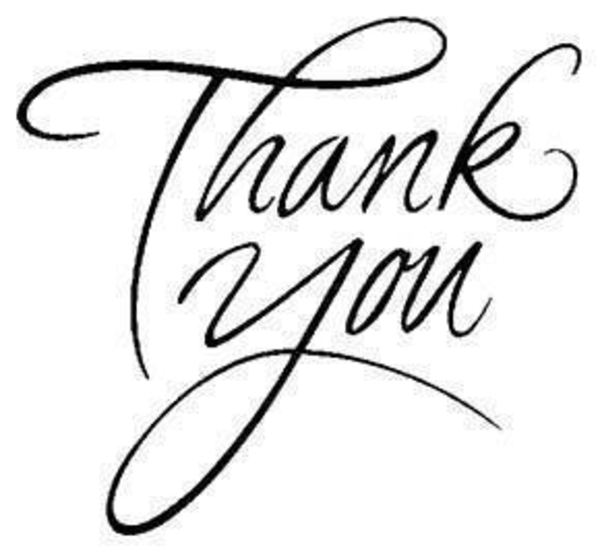 600x552 Thank You Clip Art Clipart