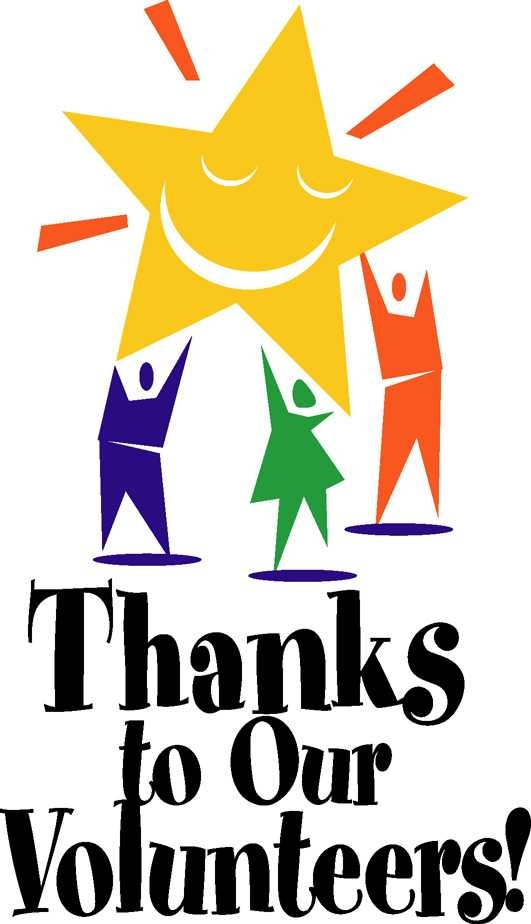 531x924 Thank You Volunteer Clip Art Clipart Panda