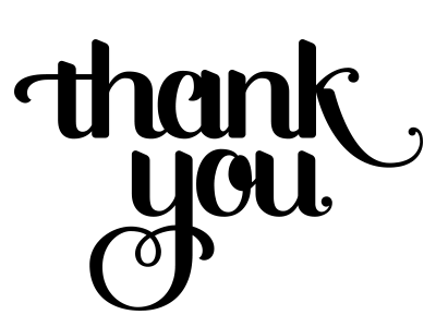400x300 Thank You Black And White Thank You Clip Art Black And White Free