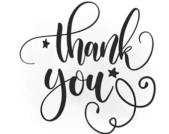 Thank you calligraphy. Artwork free download best