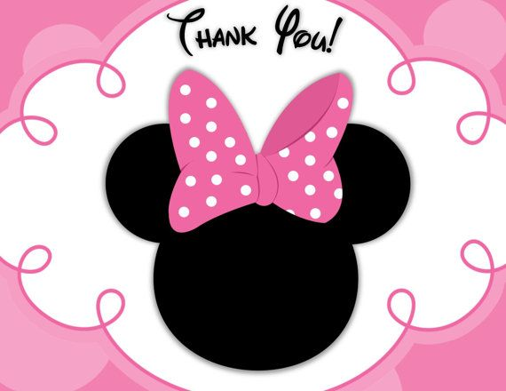 570x440 Free Minnie Mouse Silhouette Clip Art