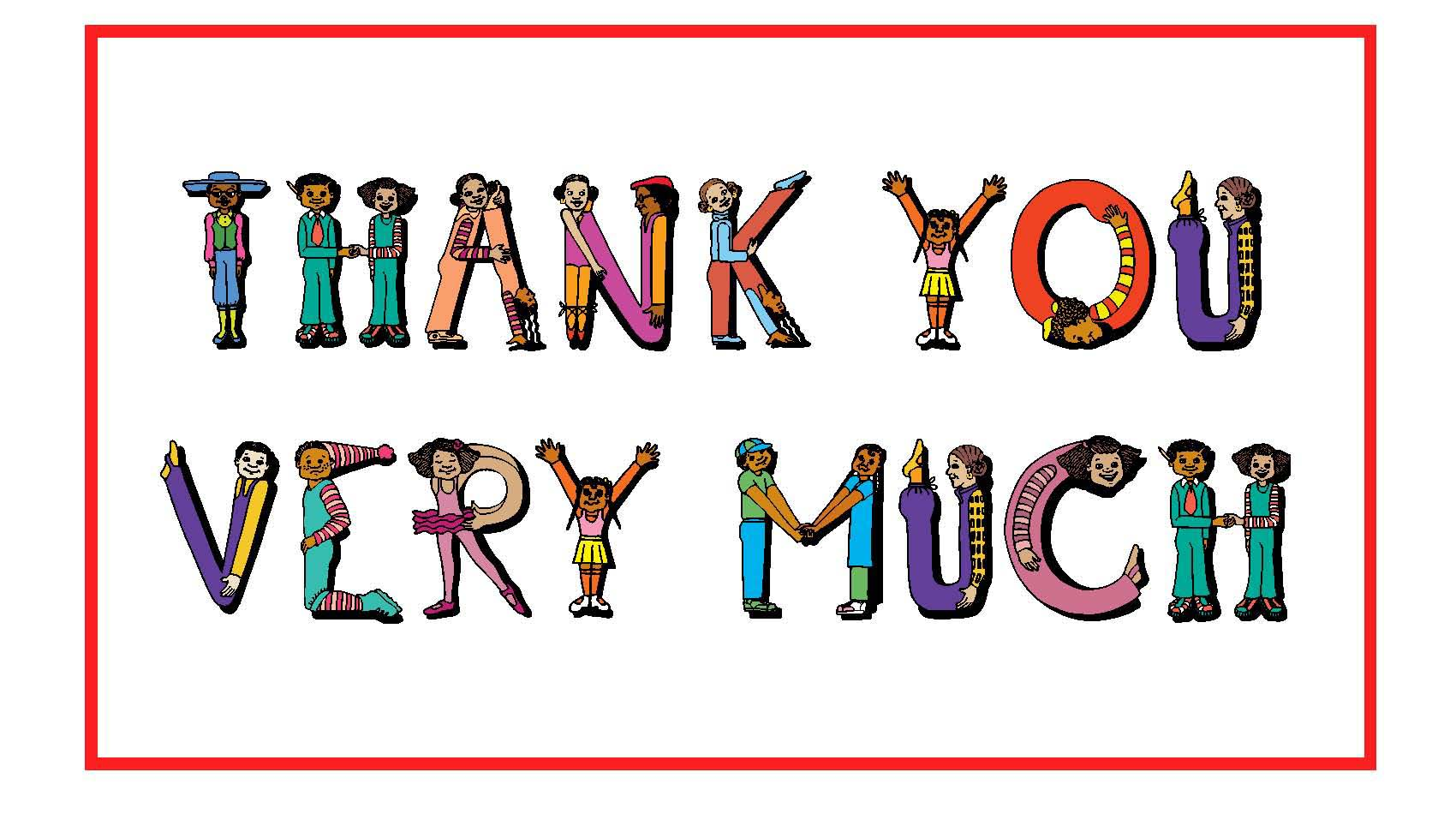 1700x950 Thank You Very Much Greetings Free Clipart Images