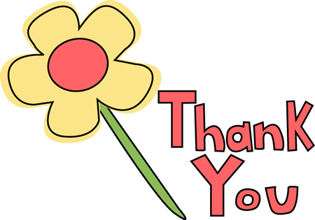450x315 Thank You Card Clipart