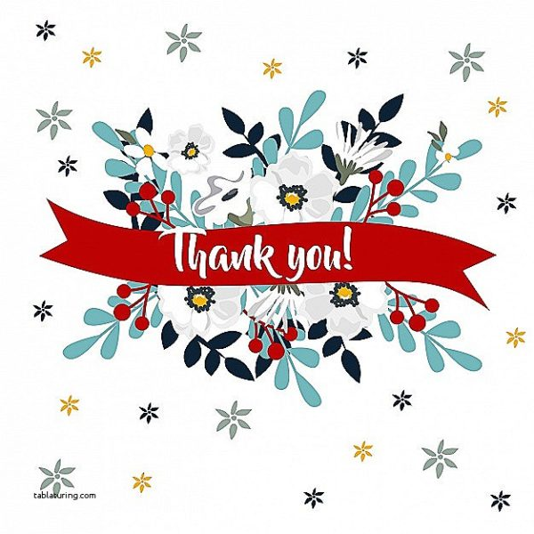 600x600 Thank You Cards Thank You Card Clipart Best Of Clip Art Thank You