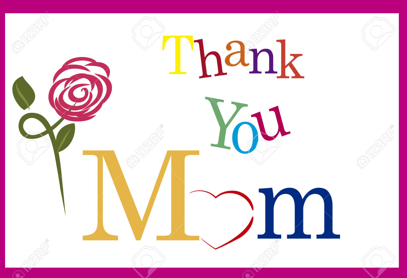 1300x890 Thank You Mother Clipart