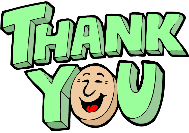 750x529 Thank You Clip Art Clipart Panda