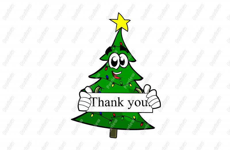 800x523 Christmas Thank You Clipart