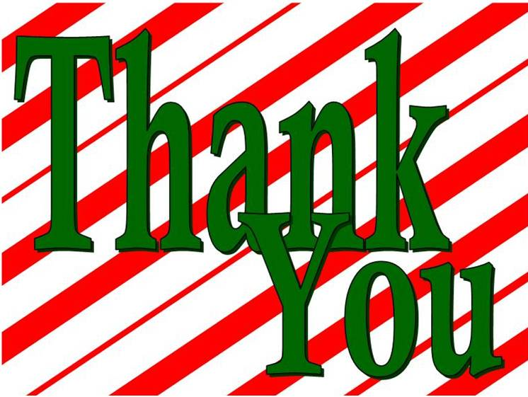 746x561 Christmas Thank You Clipart Free
