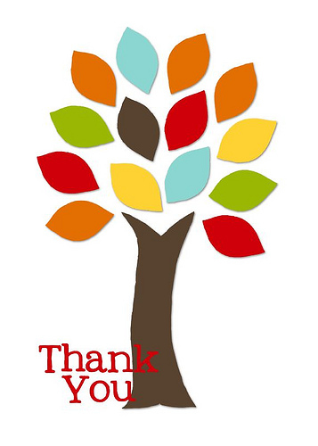 357x500 Fall Thank You Clipart 1985339