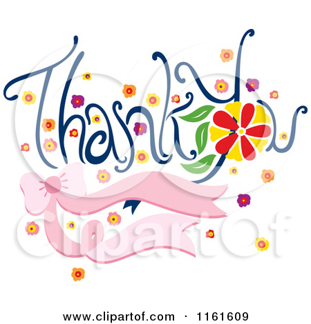 450x470 Royalty Free Rf Thank You Clipart Illustrations Vector Graphics 2