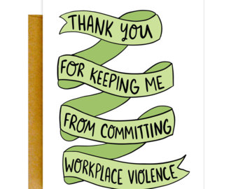 340x270 Boss Card Supervisor Thank You Card Funny Appreciation