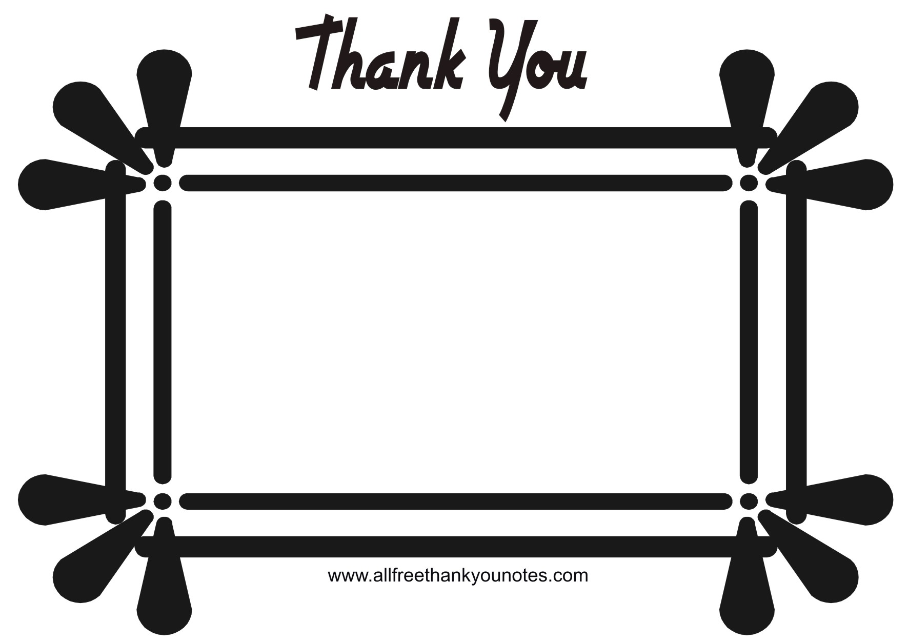 1771x1252 Thank You Border Clip Art Free Thank You Black And White Thank You