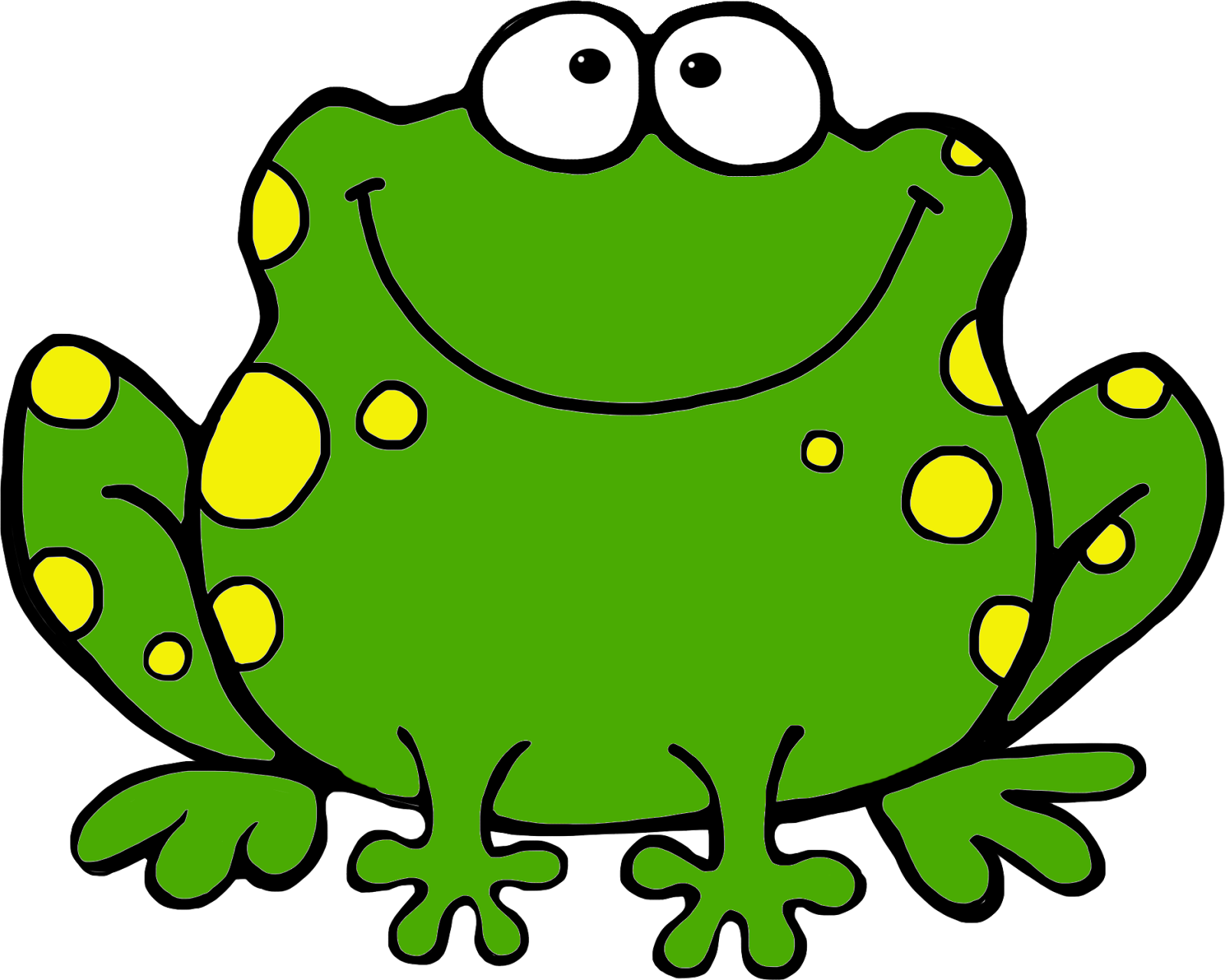 1600x1280 Frog Thank You Clipart