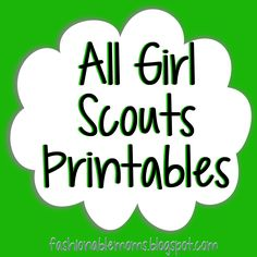 236x236 Junior Girl Scouts Clip Art