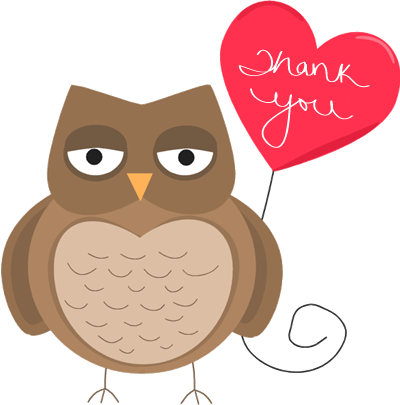 400x405 Thank You Clip Art Free Clipart Images