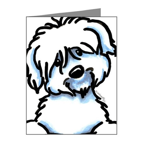 460x460 Coton De Tulear Thank You Cards Coton De Tulear Note Cards