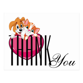 324x324 Dog Cat Thank You Gifts On Zazzle