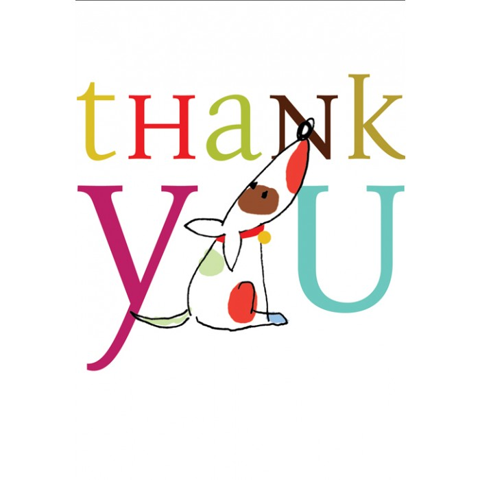 700x700 Dog Thank You Notes X 10 Cards From Postmark Online