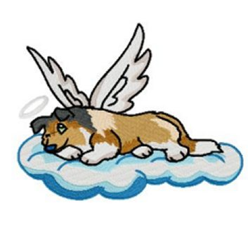 353x353 Graphics For Angel Dog Clip Art Free Graphics