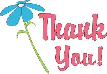 375x260 Thank You Clipart Thank You Flower Png Zkk9zr Clipart