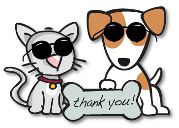 364x260 Thank You Dog Clipart
