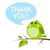 170x170 Orange Blob Saying Thank You, Cute Emoji Character With Word