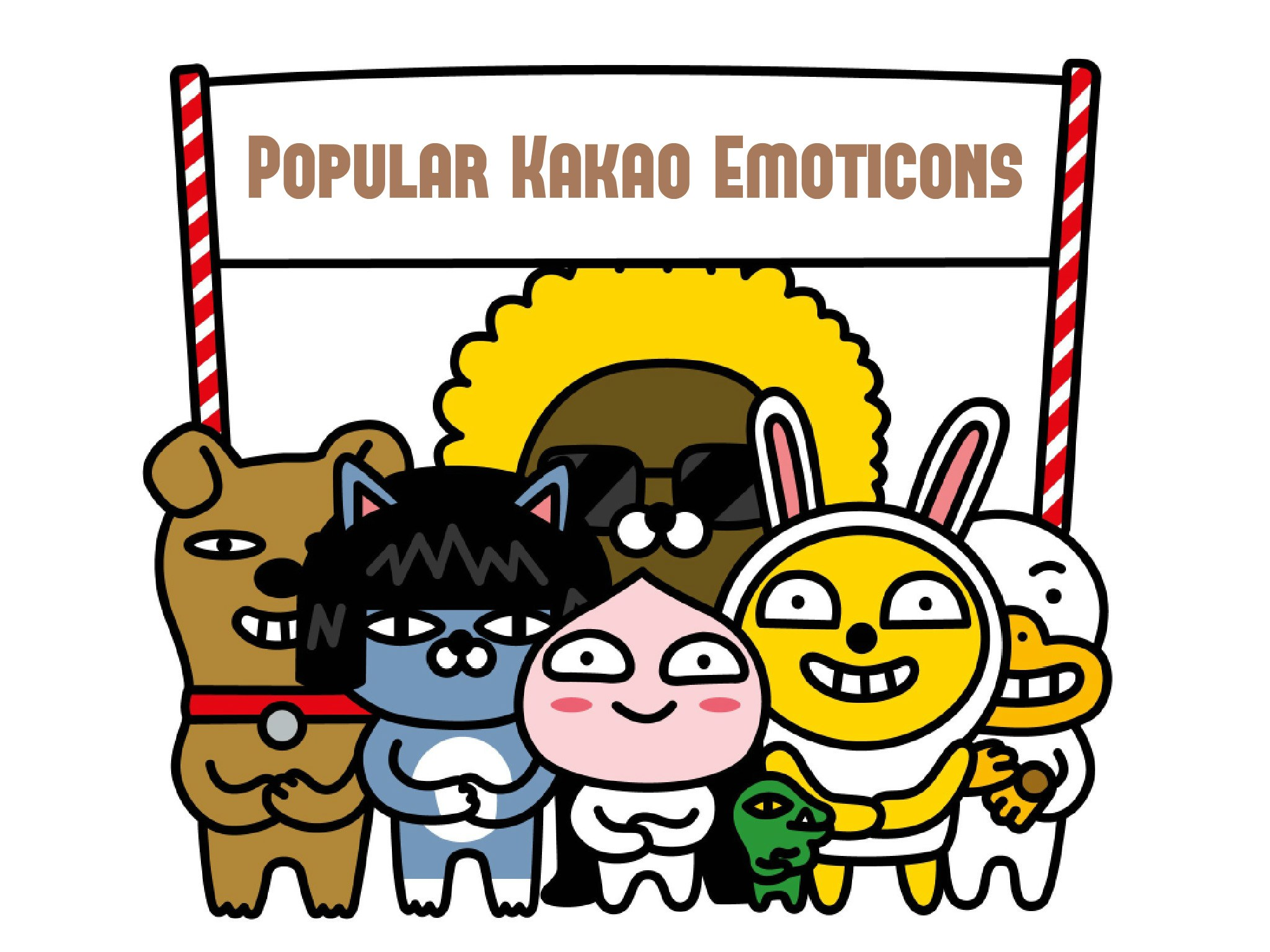 2048x1536 10 Of The Best Kakao Emoticons Neon But More