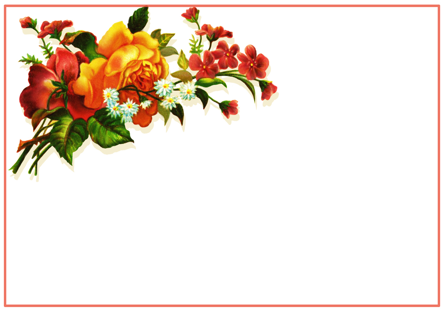 Thank You Flowers Clipart Free Download Best Thank You Flowers