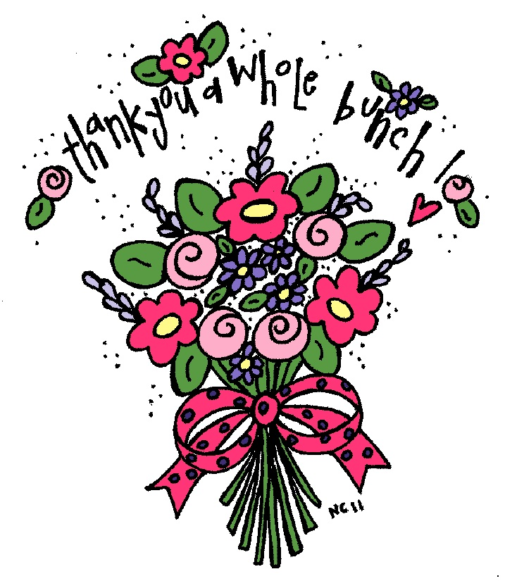 Thank You Flowers Clipart | Free download on ClipArtMag