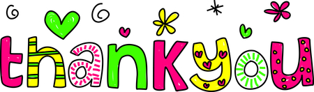 450x132 Free Thank You Clip Art