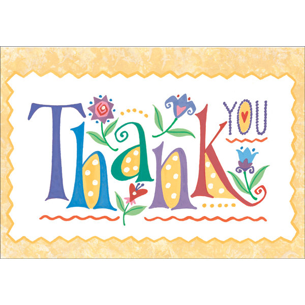 600x600 Thank You Card Images Cute Thank You Cards Blank Printable Thank
