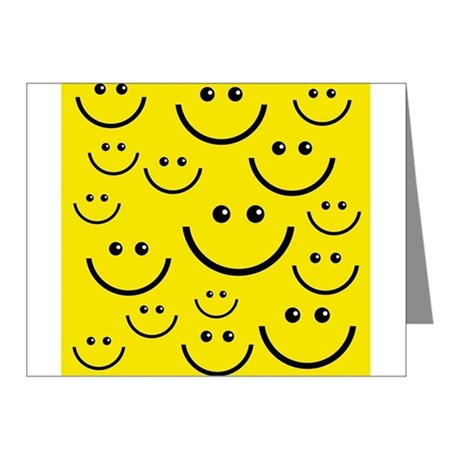 460x460 Smiley Xmas Thank You Cards Smiley Xmas Note Cards