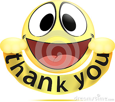 400x355 Thank You Smiley Clipart