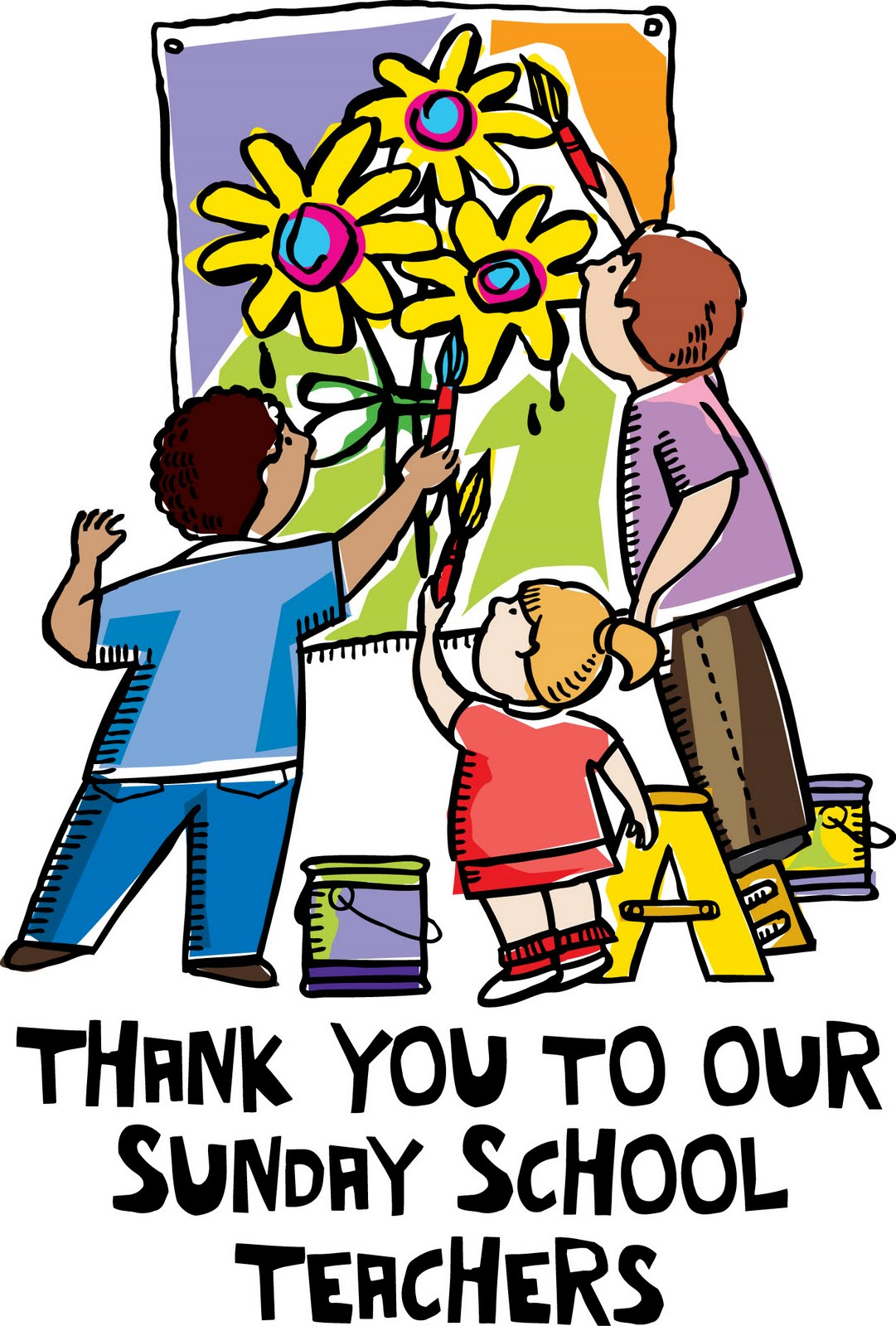 1081x1600 Thank You Very Much To Our Sunday School Teachers!! You'Re A God