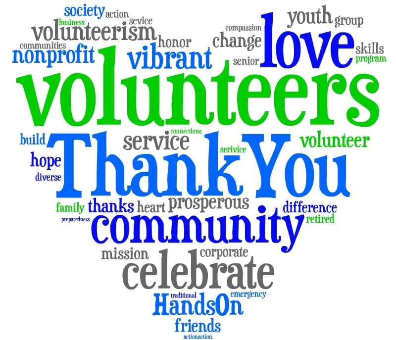 800x687 Thank You For Volunteering, Volunteer Thank You Quotes
