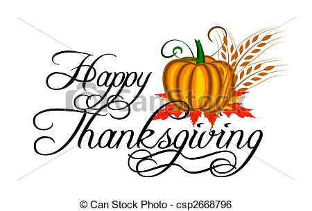 450x305 Happy Thanksgiving Clipart