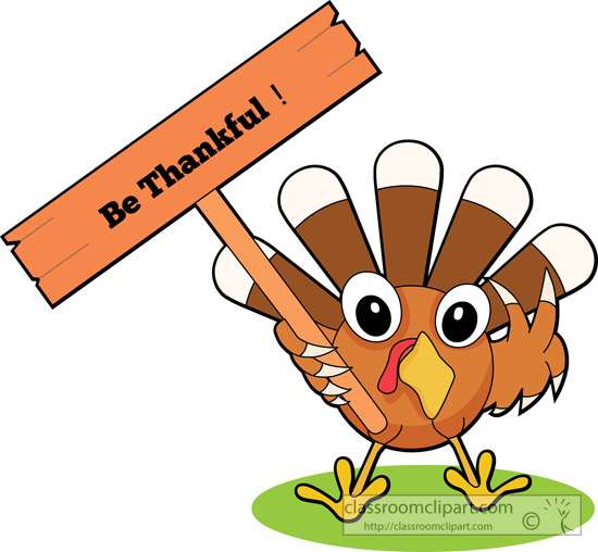 550x508 Thanksgiving Clipart Thankful