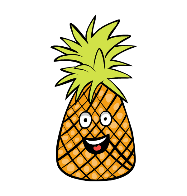 600x630 Clipart pineapple head image