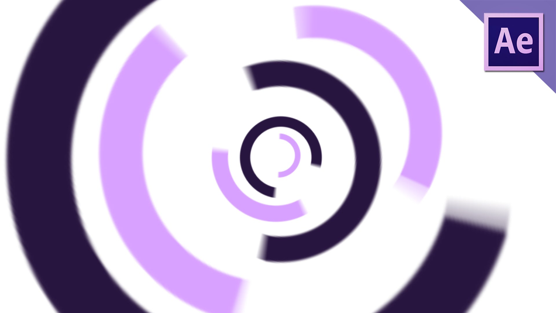 1920x1080 Animated Circles With Radial Wipe Effect After Effects Tutorial