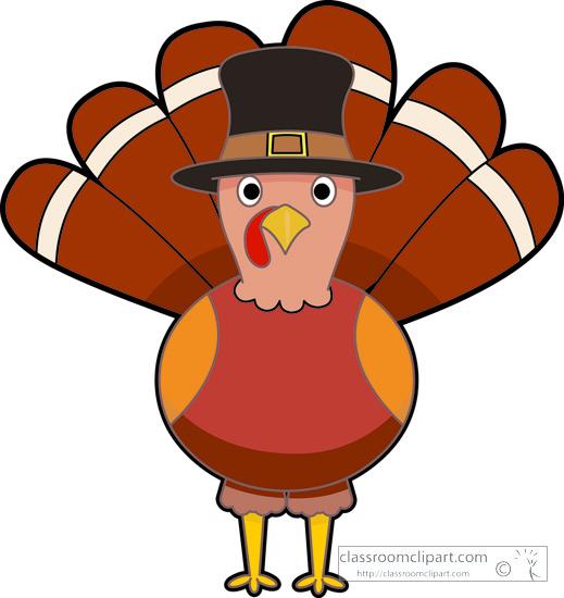 519x550 Thanksgiving Clipart Turkey