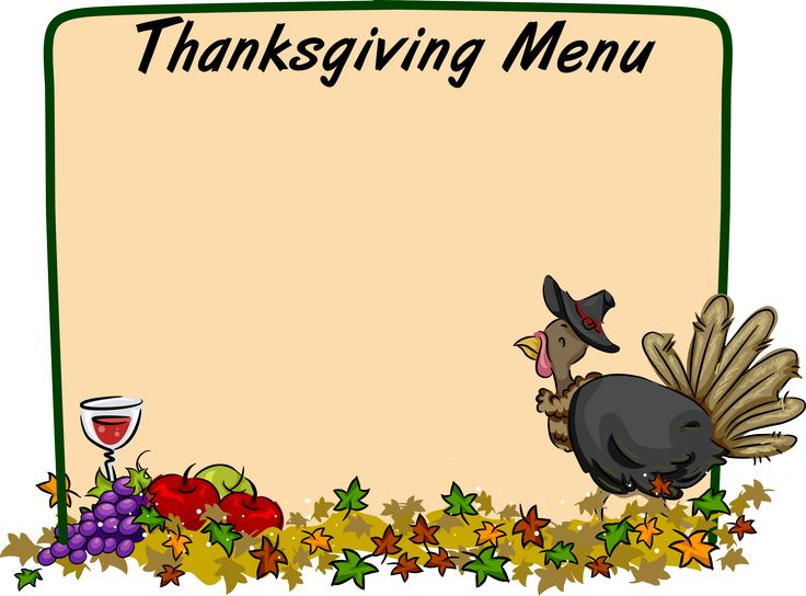 736x544 Thanksgiving Buffet Clipart