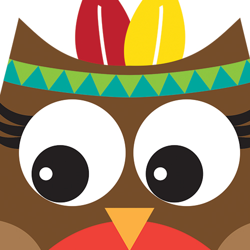 500x500 Thanksgiving Owl Clip Art – Cliparts