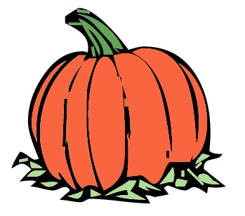 349x308 Thanksgiving Pumpkin Clipart
