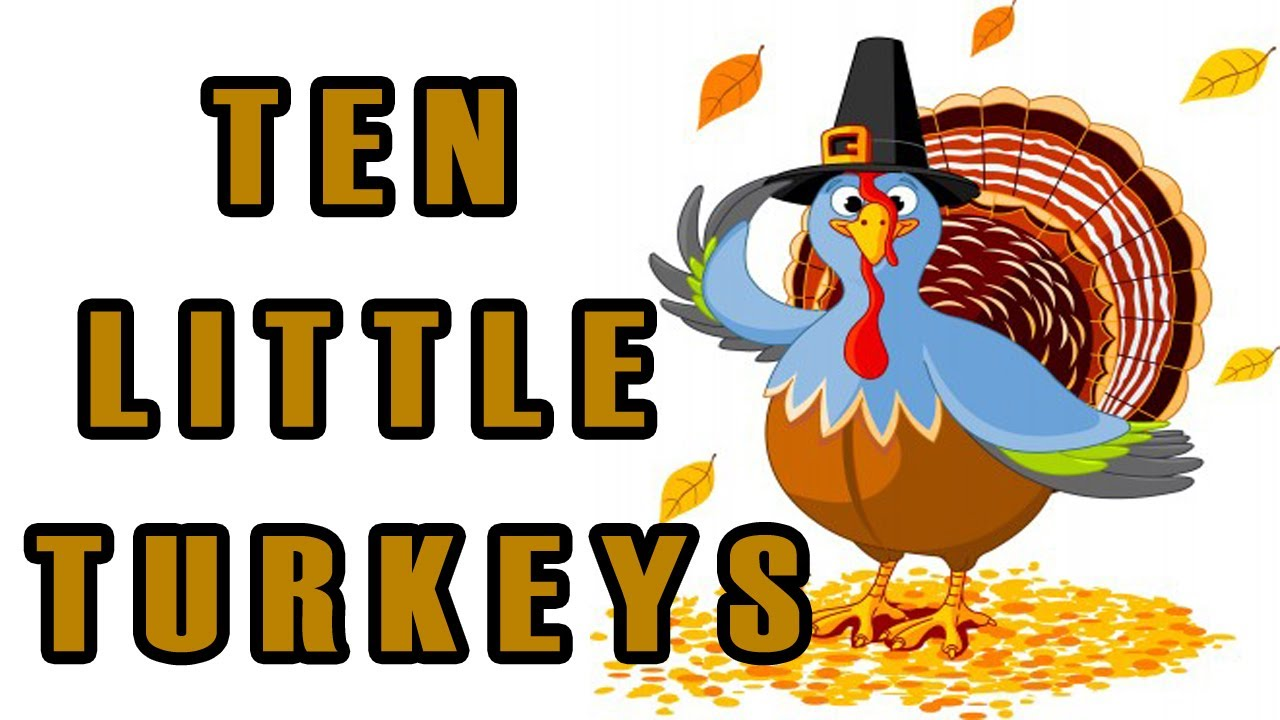1280x720 Five clipart little turkey