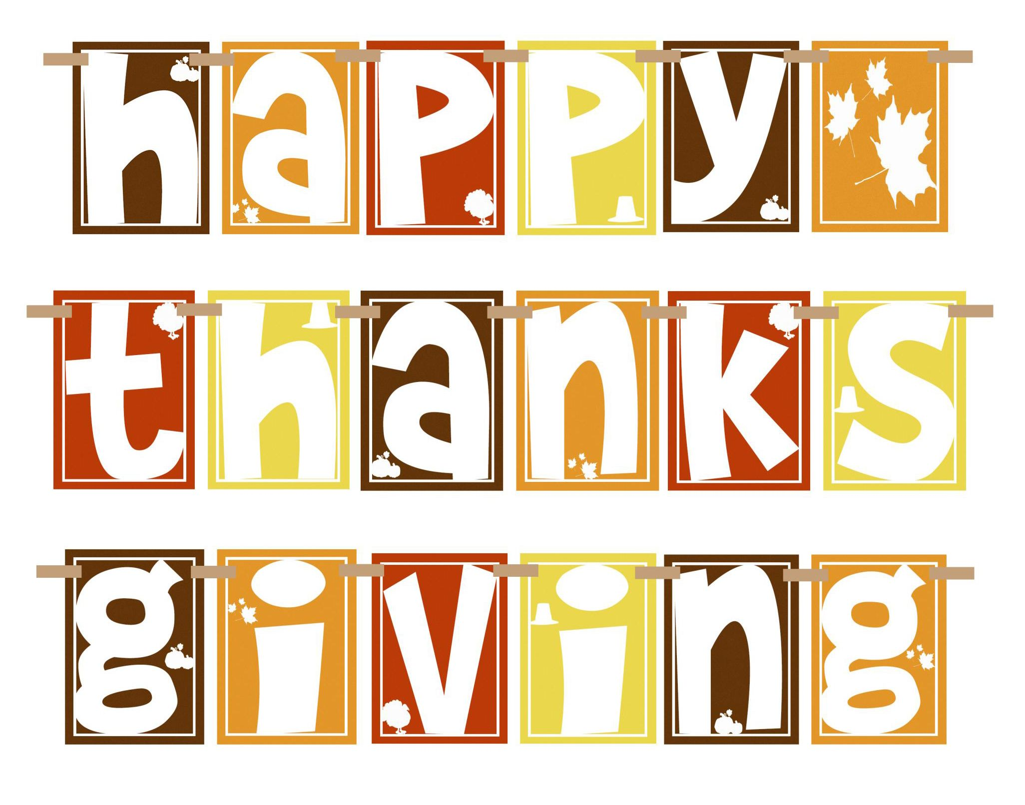 2052x1612 Happy Thanksgiving Clipart Pictures, Photos, and Images for