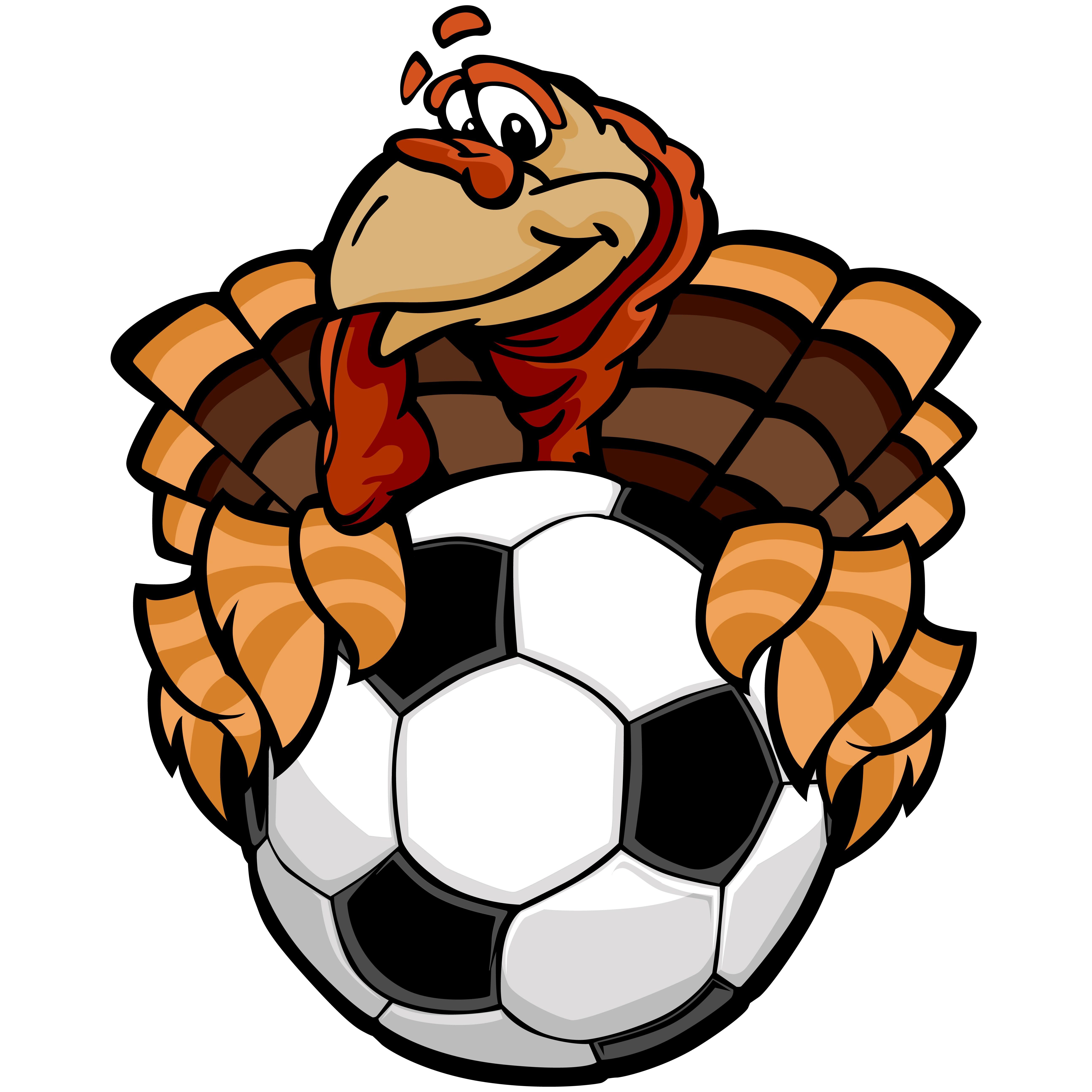 5175x5175 Soccer Turkey Clip Art