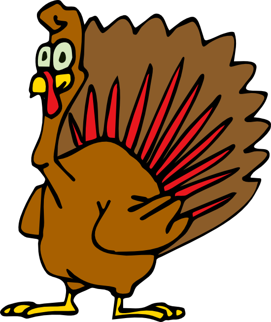 550x654 Free Animated Thanksgiving Turkey Clipart