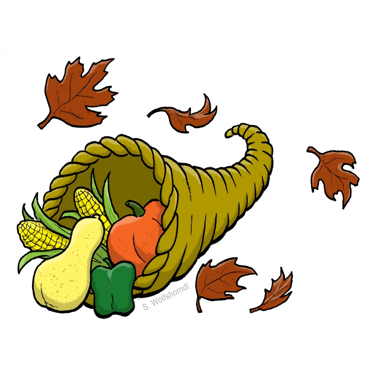 1200x1200 Animated November Clipart