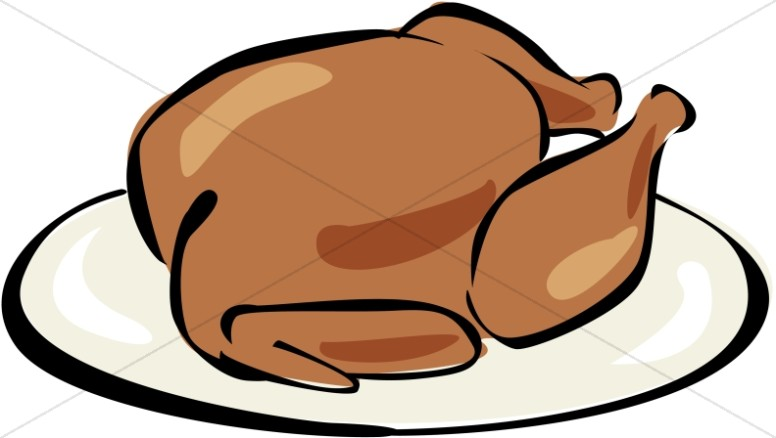 776x438 Cooked turkey clipart thanksgiving